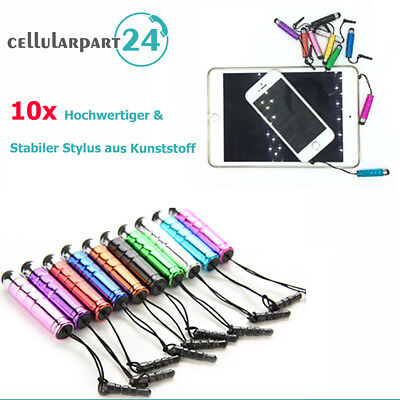 10x Touchpen Eingabestift Stylus Pen Stift Handystift für iPhone X/8/8 Plus/7/7P