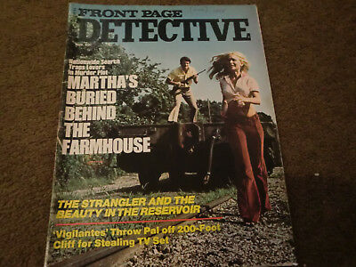 Front Page Detective Magazine (american) Nov 1974