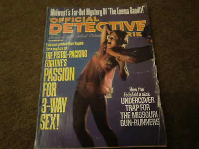 Official Detective Magazine (american) Sept 1975