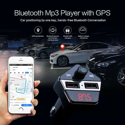 Real Time GPS Tracker GSM GPRS System Dual USB Car Charger Tracking Device Mini
