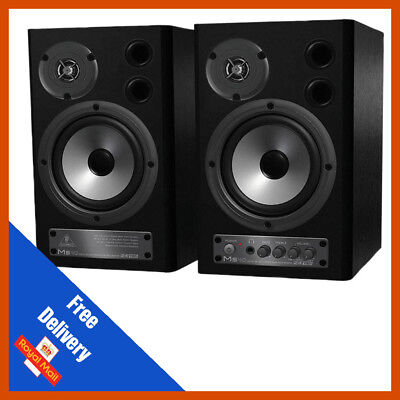 Behringer MS40 Two-Way Active Stereo Monitor Speakers PAIR