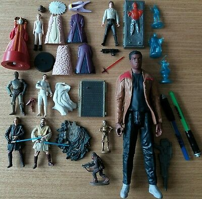 Figurines Star Wars AU CHOIX Hasbro C-3PO Chewbacca Darth Vader Han Solo