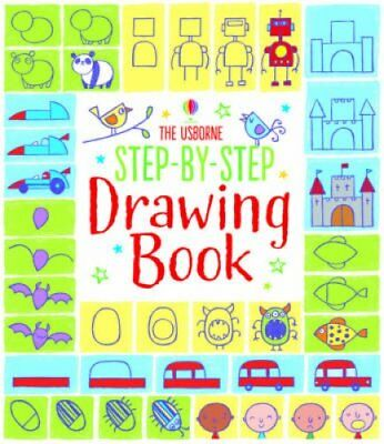 Step-by-Step Drawing Book by Fiona Watt 9781409565192 (Paperback, 2014)