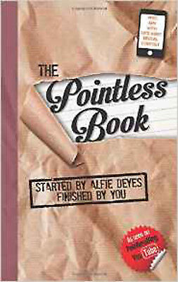 The Pointless Book, New, Alfie Deyes Book