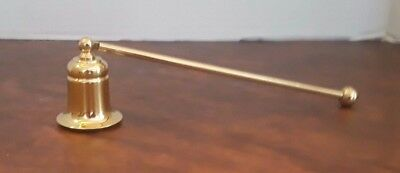 Partylite Brass Candle Snuffer, New In Box