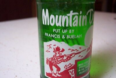 Vintage Mountain Dew HILLBILLY Bottle It'll Tickle Yore Innards Francis Buelah