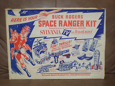 Buck Rogers Space Ranger Kit by Sylvania 1952