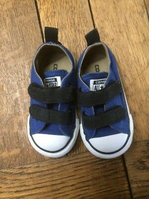 Baby Converse Size 4 Boys Blue