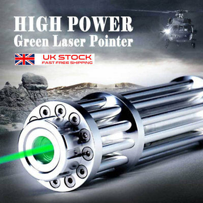 High Power Military Laser Pointer Pen Green 1MW 532nm Militar Burning Beam vf
