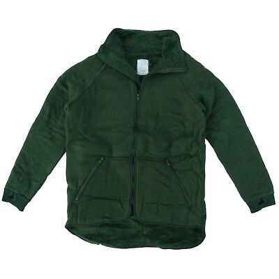 Dutch Army Fleece Jacket T1 Cold Weather Zip 80% Wool