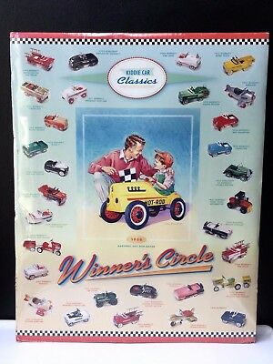 1995 Kiddie Car Classics Poster Featuring 1956 Garton Hot Rod Racer Sealed