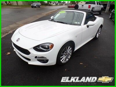 2017 Fiat 124 Spider Lusso Convertible only 1000 miles Leather WOW!! Only1000 Miles & only $405 a month!! Manual Navigation Leather (not Miata)