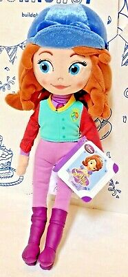 """New Disney Store Sophia the First 14"""" Princess Equestrian Horse Plush Doll Toy"""