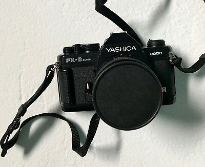 YASHICA FX-3 Super 2000 /  YASHICA Lens ML 50mm 1.1.4 / TOP! Rare!
