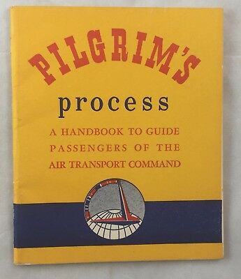 WWII Era Handbook Guide Passengers of Air Transport Command Army Air Force AAF
