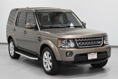2016 Land Rover LR4 HSE Sport Utility 4-Door 2016 Land Rover LR4 HSE Silver Edition SUV Supercharged V-6