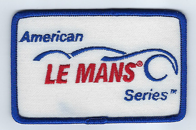 "American LeMans Racing Jacket Patch 4""x2.5"" Iron On US FREE SHIPPING"