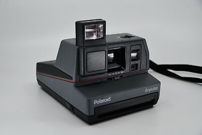 Vintage Grey Polaroid Impulse Af Auto Focus System Instant Camera