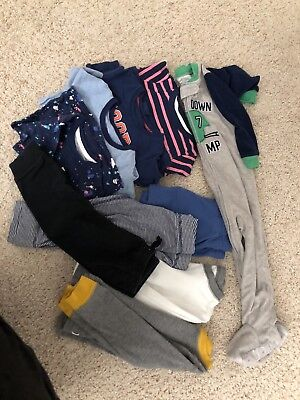 Lot of 10 great carters boys bundle used clothing size 24 months