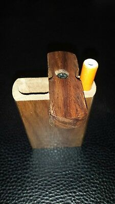 "3"" Wooden Dugout Set with 2"" pipe - Spring Loaded FREE SHIPPING!"