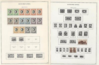 South West Africa Collection 1923-85 on 40 Minkus Specialty Pages