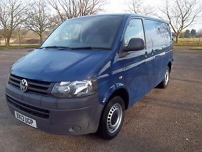 2013 Volkswagen Transporter T26 84 Tdi Swb Remapped To 170 Bhp Repaired Salvage.