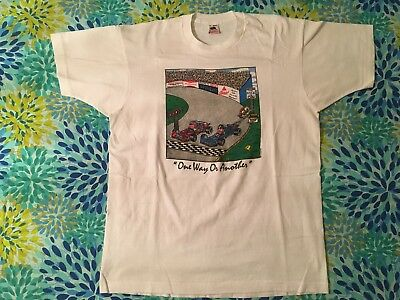 Vintage Grateful Dead 1990's Original  T Shirt - 2 sided New Speedway Boogie