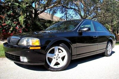 2002 Lincoln LS  2002 LINCOLN LS V8 ONLY 81K LOW MILES! 1 OWNER! 44 SERVICE RECORDS! FLORIDA!