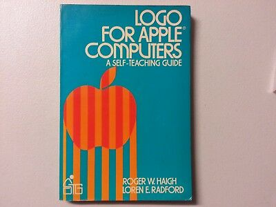 RARE LOGO for APPLE Computers - Roger Haigh - 1984 - Vintage Computing Book