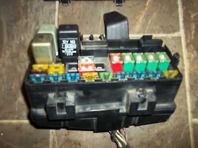 1992 1993 1994 1995 1996 honda prelude under hood fuse box with fuses &  relays