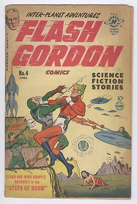 Flash Gordon Comics #4 (1951) FR Harvey Golden Age