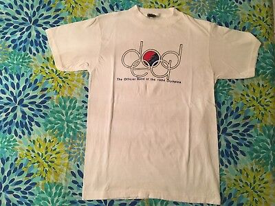 Vintage Grateful Dead Original Design T Shirt Dead Olympics 1984