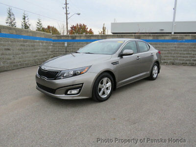 2015 Kia Optima 4dr Sedan LX 4dr Sedan LX Automatic Gasoline 2.4L 4 Cyl GRAY