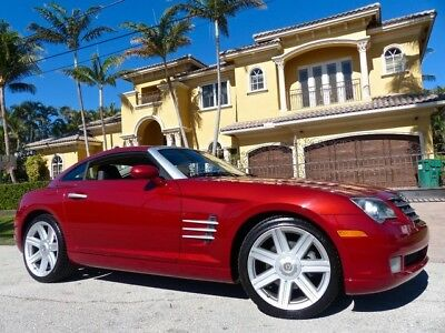 2004 Chrysler Crossfire Base Coupe 2-Door ONLY 14k Miles Clean CARFAX Florida Owned Immaculate Condition!!!!
