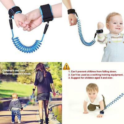 Anti Lost Wrist Link Child Leash Band Hand Safety Strap Rope Baby Kids Bracelet