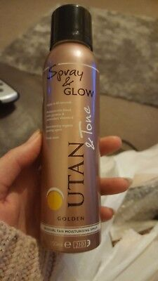 utan and tone spray and glow
