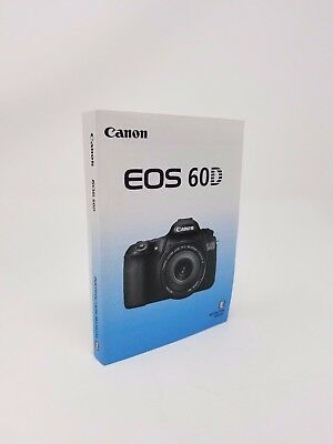 canon eos 60d genuine instruction owners manual book original new rh picclick com canon 40d manual canon 40d manual pdf