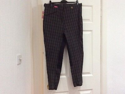Fuller Fillies Checkmate breeches size 36 new