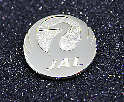Pin JAL Japan Airlines golden metal Pin for Crew, Pilots, Ground Staff Japanair