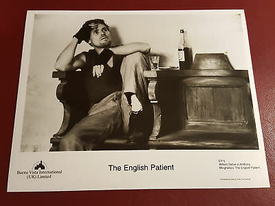 The English Patient, Willem Dafoe, 10x8 B&W Photo Press Still #B1082
