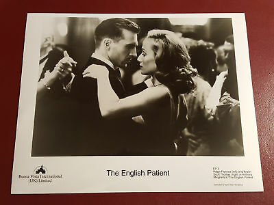 The English Patient, Ralph Fiennes, Kristin Thomas, B&W Photo Press Still #B1081