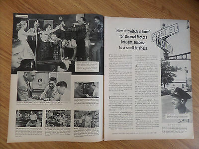 1957 GM General Motors Story Ad Appliance Mfg in Van Buren Indiana