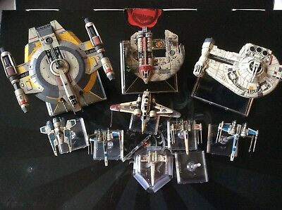 X-Wing Miniatures Scum and Rebel lot