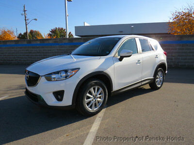 2015 Mazda CX-5 FWD 4dr Automatic Touring FWD 4dr Automatic Touring SUV Automatic Gasoline 4 Cyl WHITE