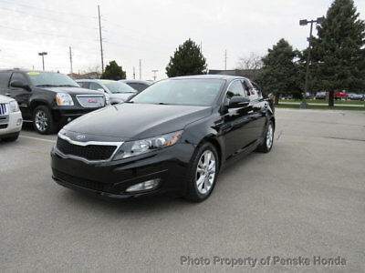 2012 Kia Optima 4dr Sedan 2.4L Automatic EX 4dr Sedan 2.4L Automatic EX Automatic Gasoline 2.4L 4 Cyl BLACK