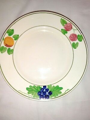 6 x Bedford Ware Hand Painted Ridgways plate 18 cm for spares or replacements
