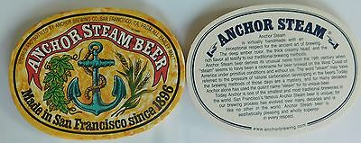 Anchor Steam Beer Lot of 10 Beer Coasters  Lot C4
