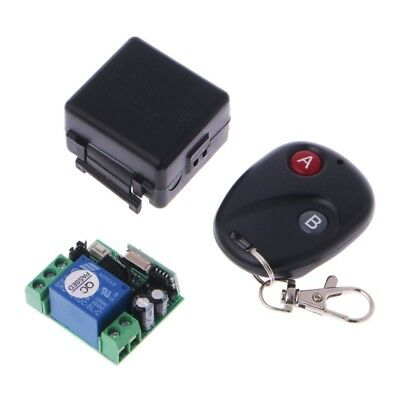 DC 12V 10A Wireless Relay RF Remote Control Switch 315MHz Transmitter + Receiver