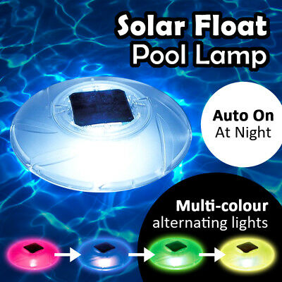 Bestway 18cm Solar Float Pool Lamp Light Waterproof Lighting Accessories