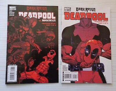 DEADPOOL #8-9 Dark Reign 2009 Marvel WAY/MEDINA  VF